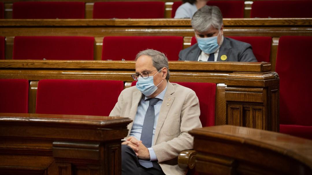 Torra confina Lleida por decreto ley para tratar de sortear el veto judicial
