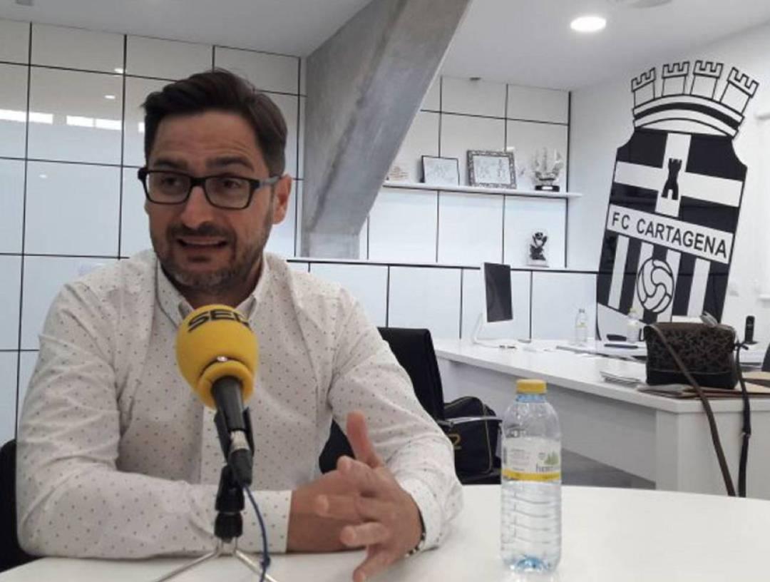 Paco Belmonte negocia incorporar al Real Murcia como filial del F.C.Cartagena