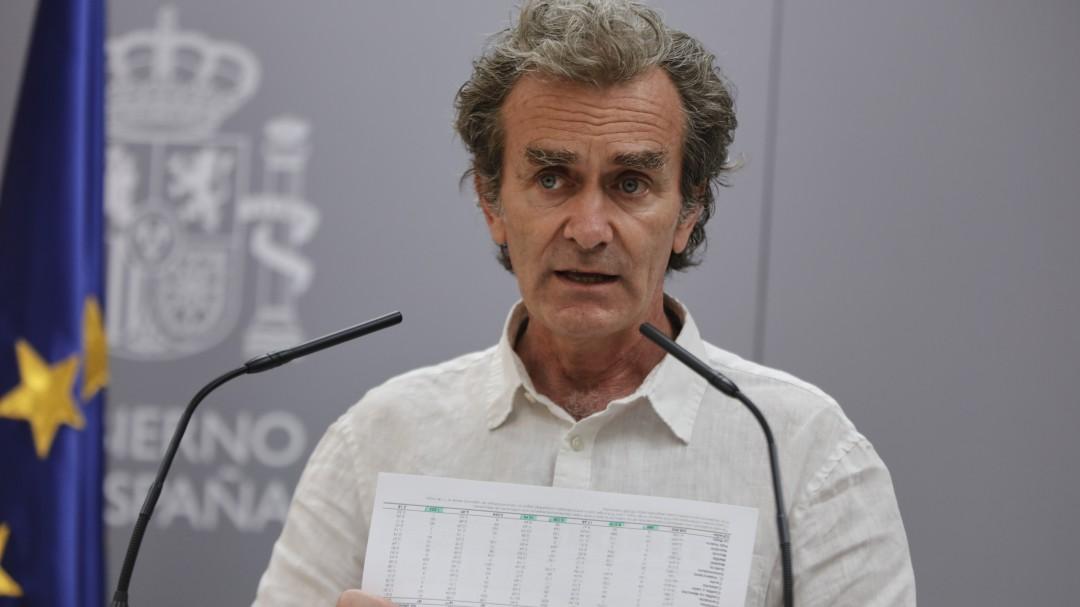 Fernando Simón explica qué debe ocurrir para que España vuelva al estado de alarma