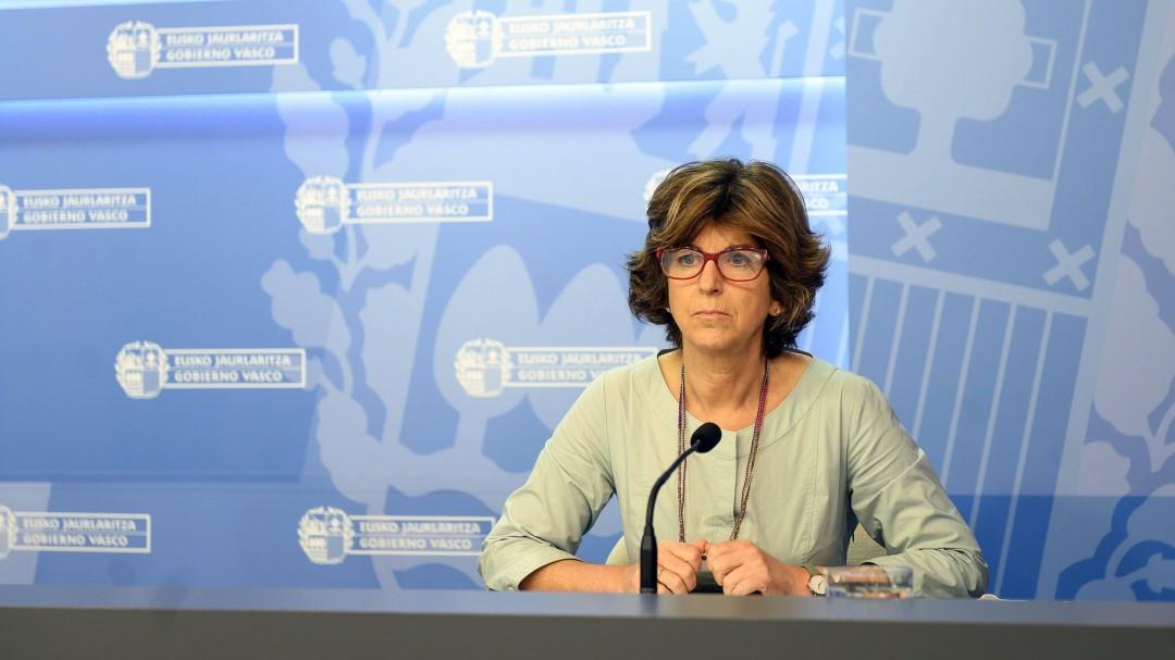 """La consejera vasca de Salud, Nekane Murga: """"Euskadi se enfrenta sin duda a la segunda ola de coronavirus"""""""