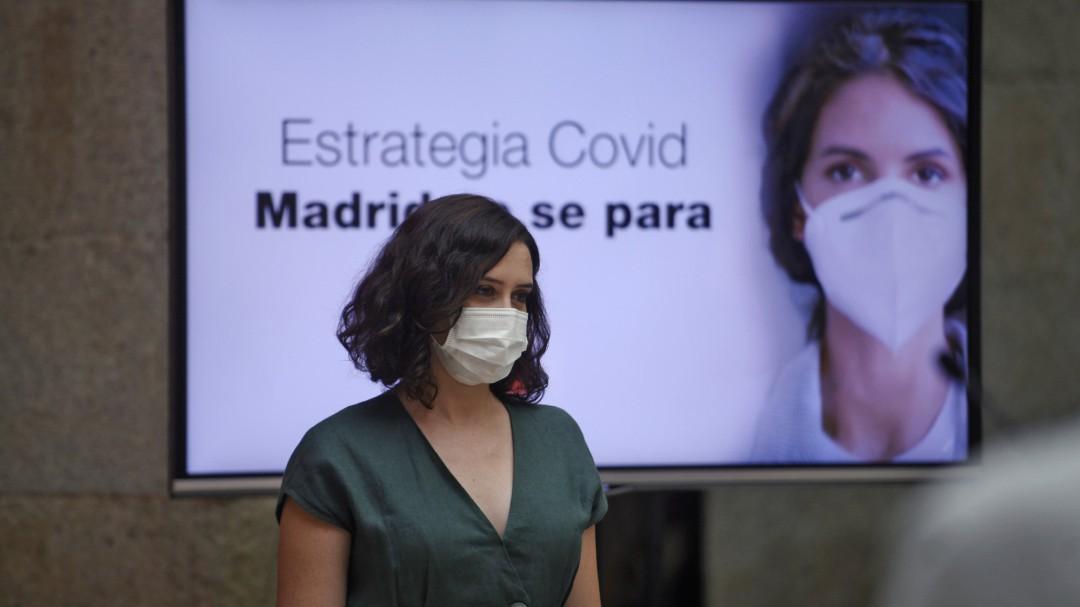 La sede central del servicio madrileño de Salud, clausurada tras detectarse un positivo en coronavirus