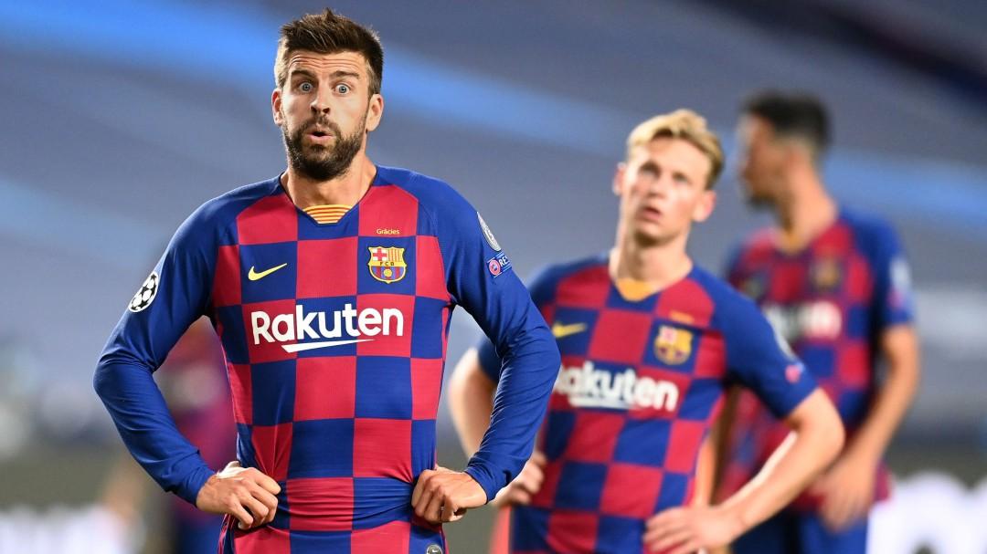 El Barcelona se va de la Champions en una de las peores noches de toda su historia