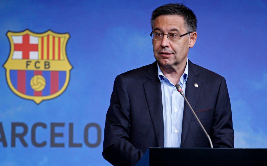 """FC Barcelona: Josep Maria Bartomeu: """"Es solo una crisis deportiva""""    Deportes   Fútbol   Cadena SER"""