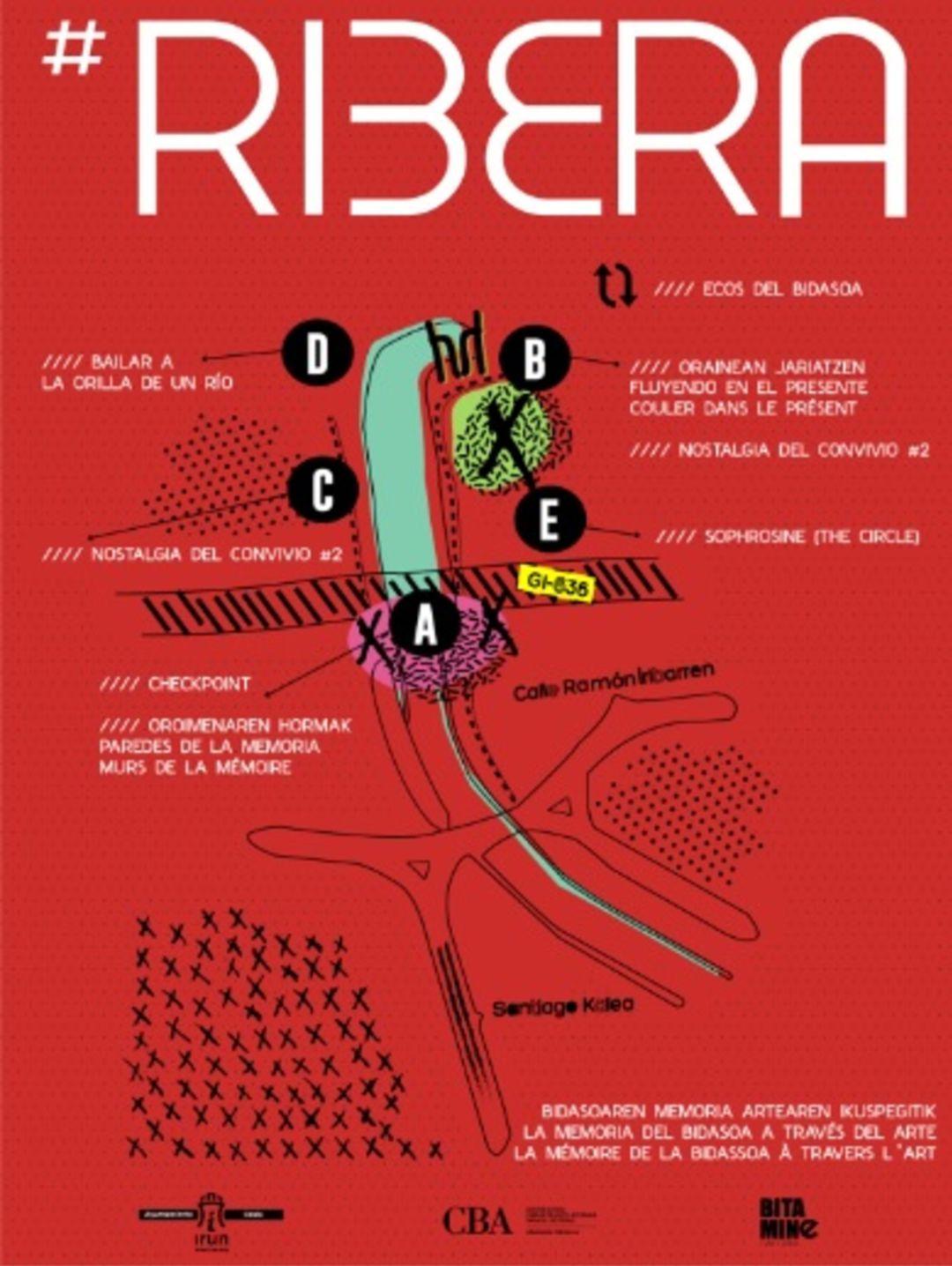Cartel de presentación V edición de la feria Ribera