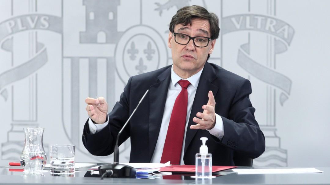 """Salvador Illa urge a hacer """"lo que haga falta"""" para controlar la situación en Madrid"""
