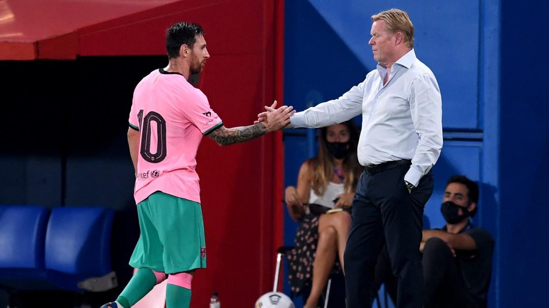 Sorpresa en la plantilla del Barcelona por la intensidad física de los entrenamientos de Ronald Koeman