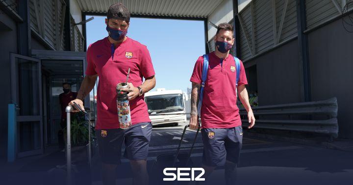 Suárez iba a convocar una rueda de prensa junto a Messi para cargar contra Bartomeu si no llegaba al Atlético