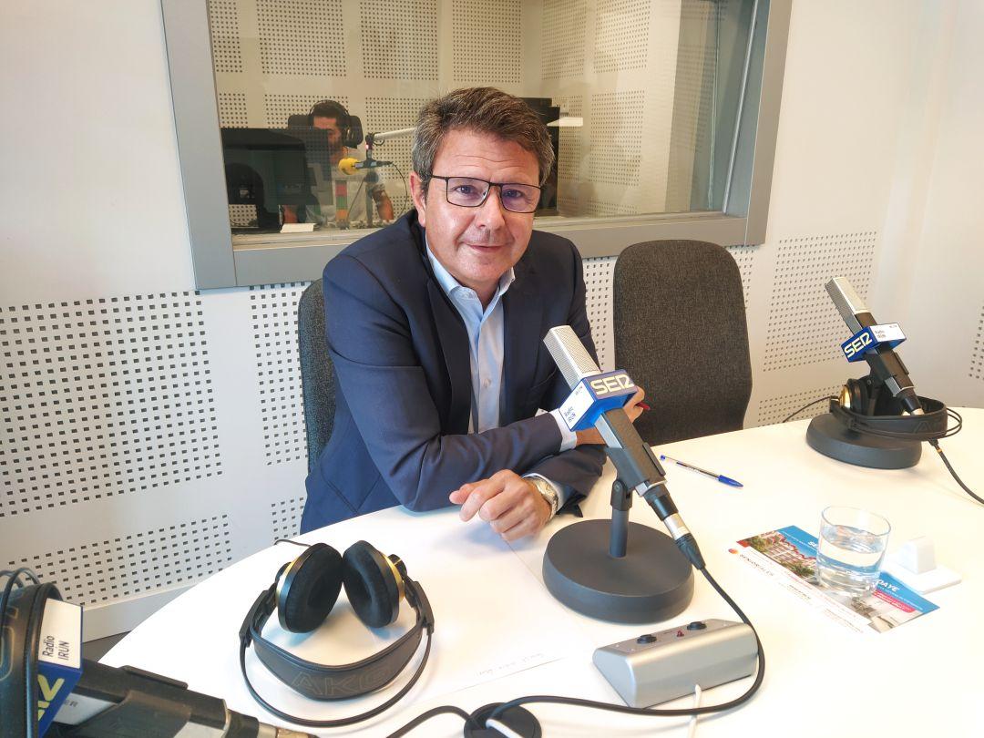 José Antonio Santano, alcalde de Irun, en nuestros estudios.