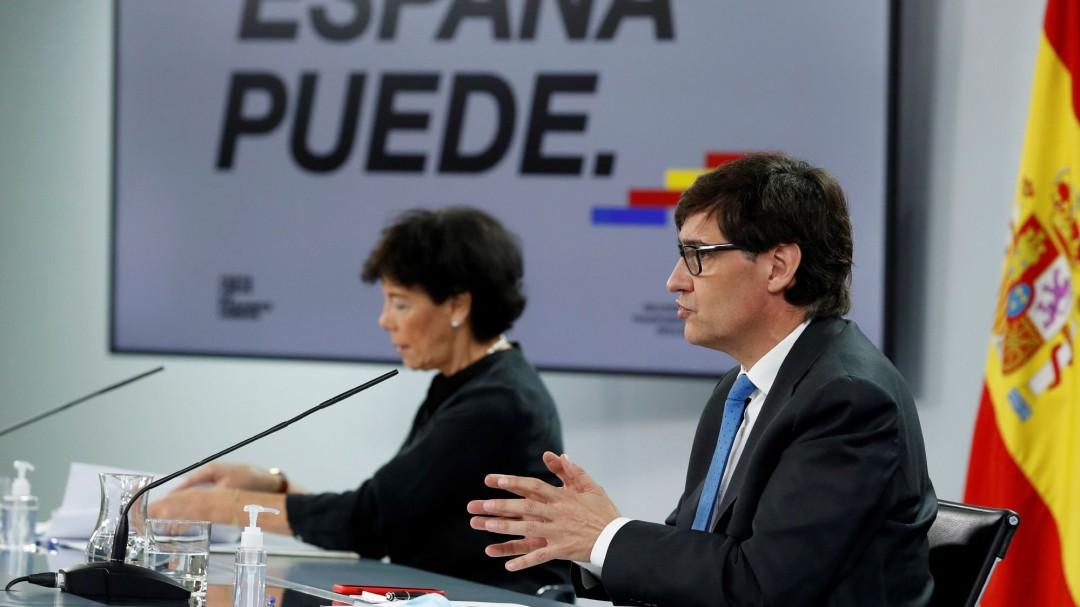 """Salvador Illa: """"Vienen semanas duras en Madrid. Hay que actuar con determinación"""""""