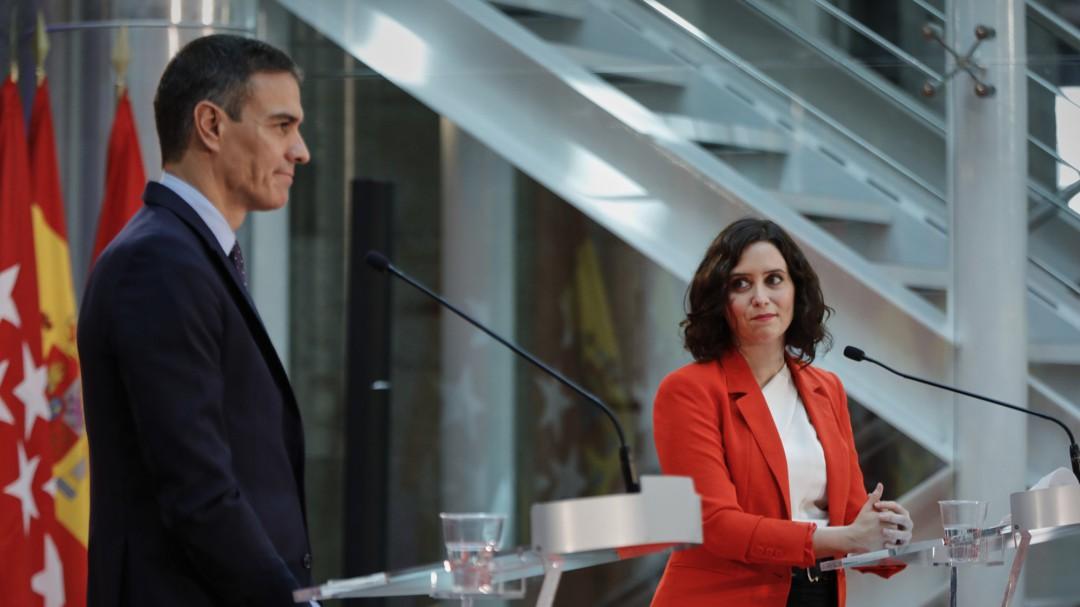 El Gobierno, preparado para intervenir en Madrid si Ayuso no rectifica