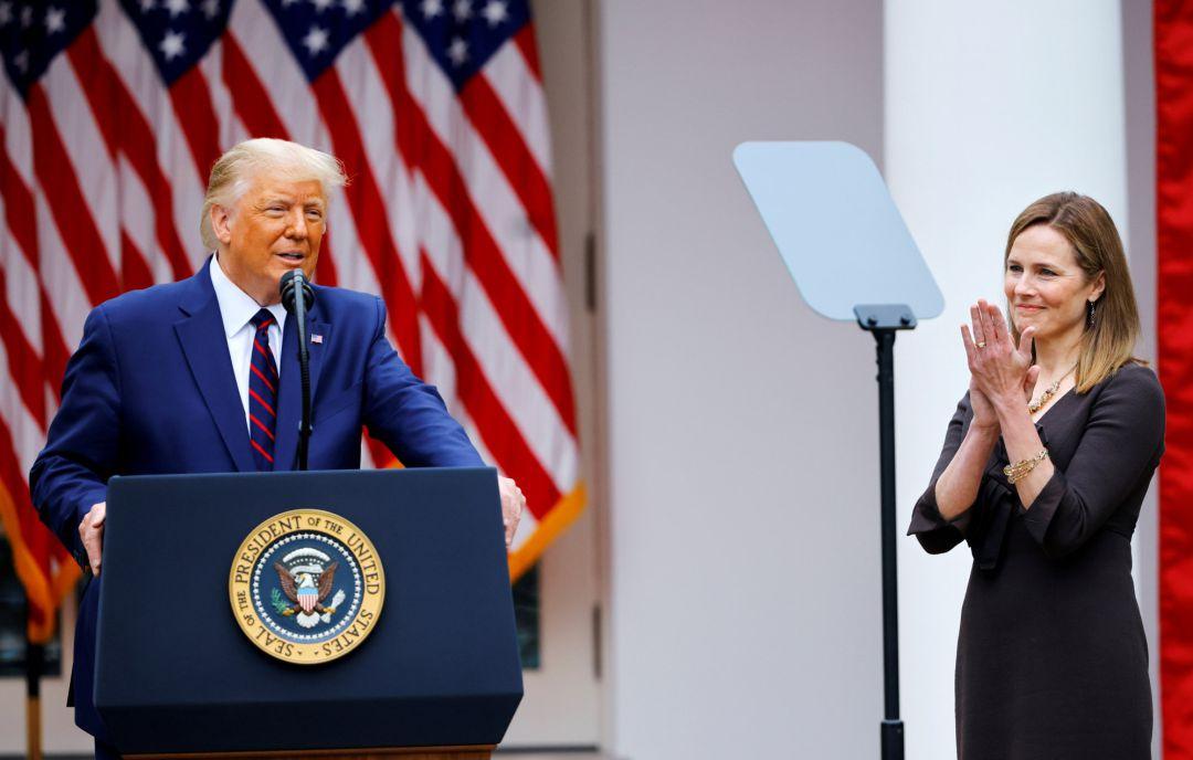 Trump elige a Amy Coney Barrett para la Corte Suprema