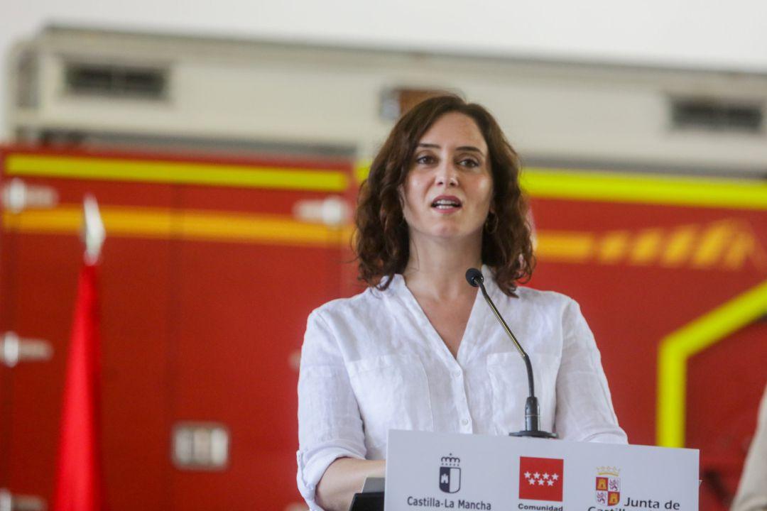 Foto de archivo de la presidenta de la Comunidad, Isabel Díaz Ayuso.