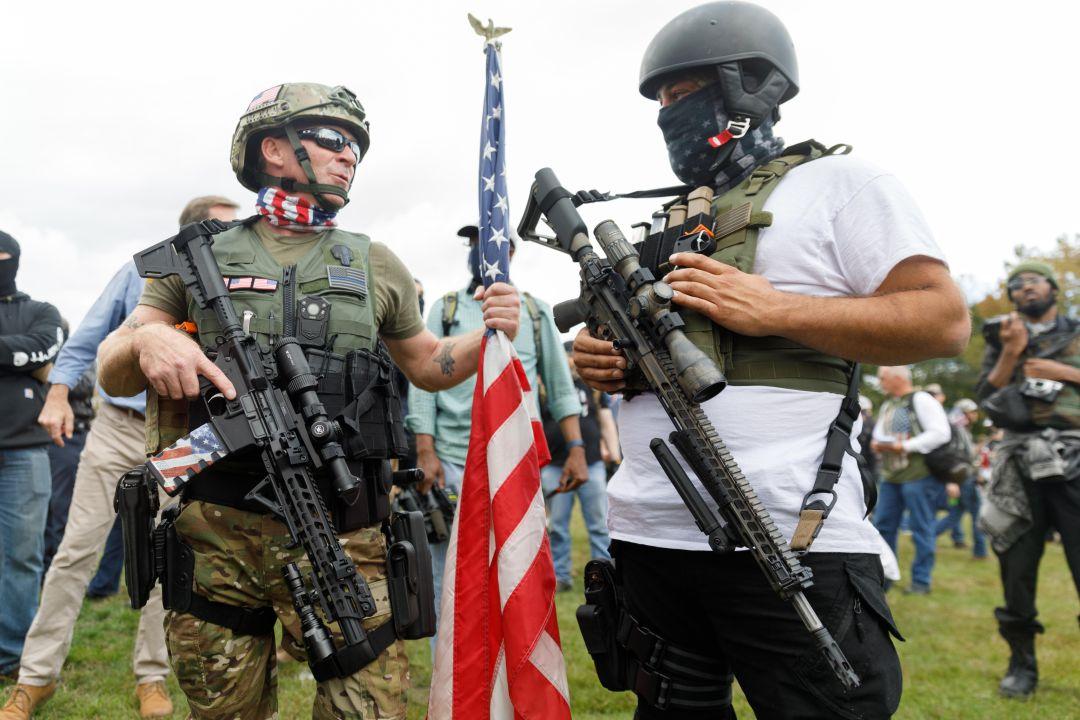 Música para los Proud Boys, el violento grupo de ultraderecha que apoya a  Trump | A vivir | 45RPM | Cadena SER