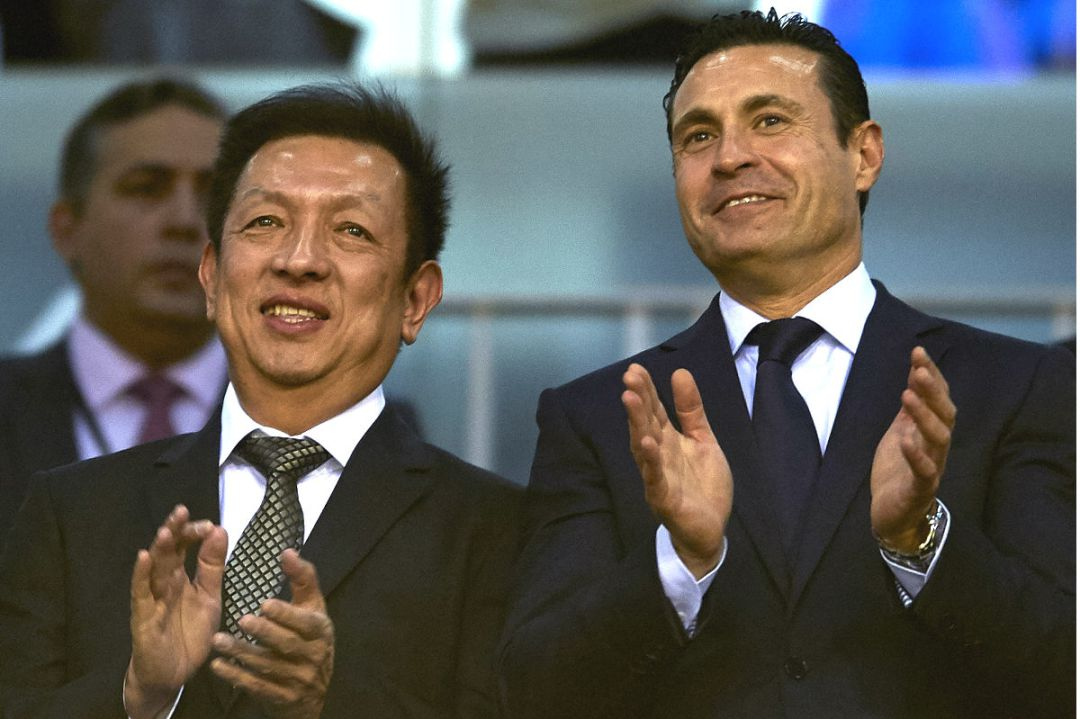 Peter Lim y Amadeo Salvo.