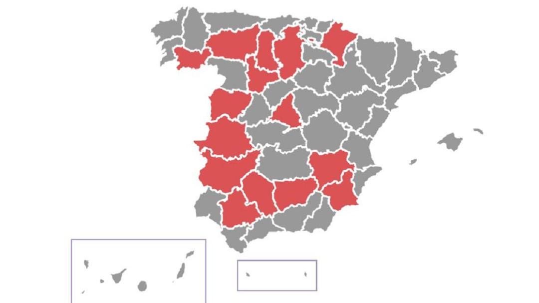 58 municipios y una comunidad: Navarra, Burgos y Aranda de Duero se suman a la lista de territorios confinados