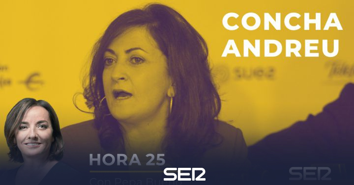 """Concha Andreu: """"No sé lo que va a hacer Madrid, pero hay que hacer muchas PCR y no engañar"""""""
