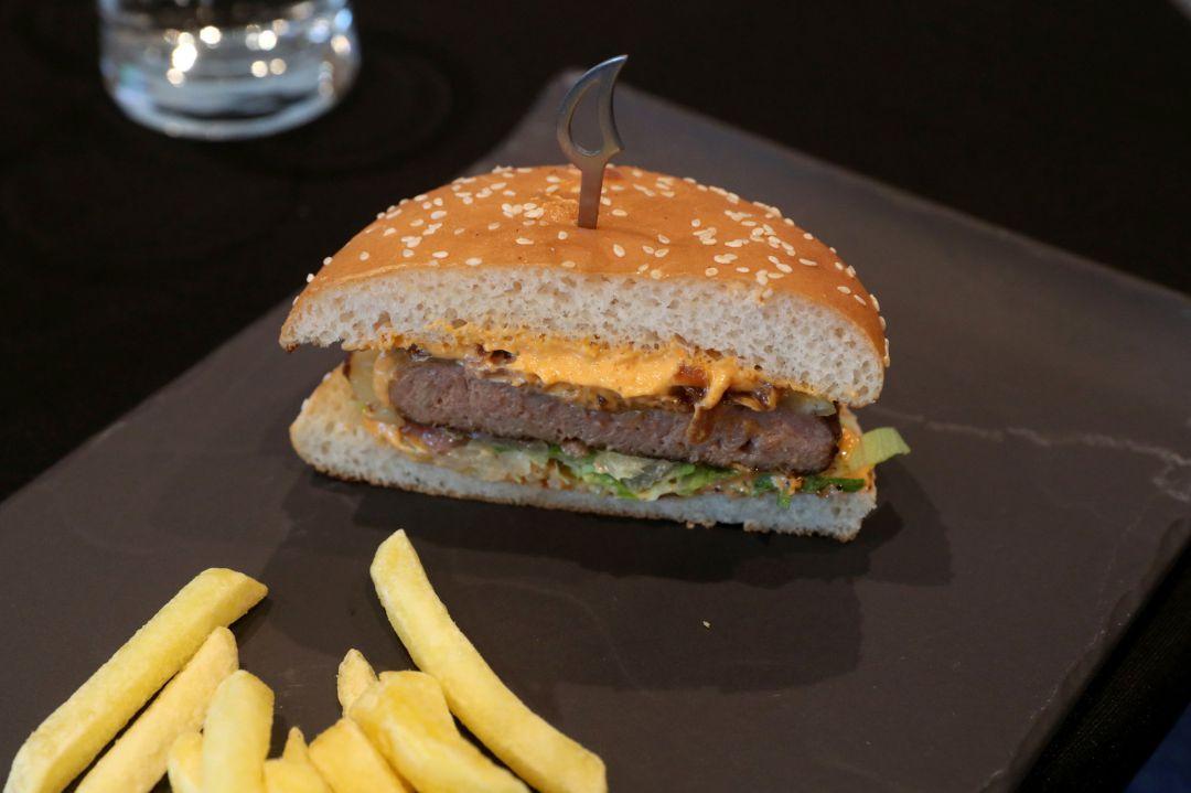Una hamburguesa vegetal de Nestle.