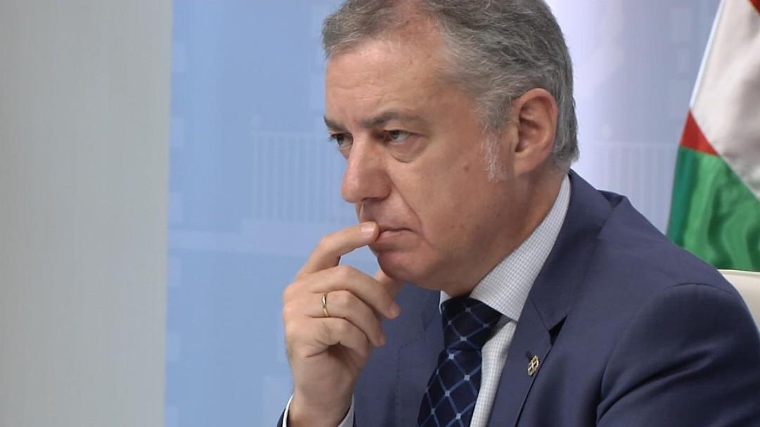Urkullu pide a Pedro Sánchez que declare el estado de alarma en todo el Estado