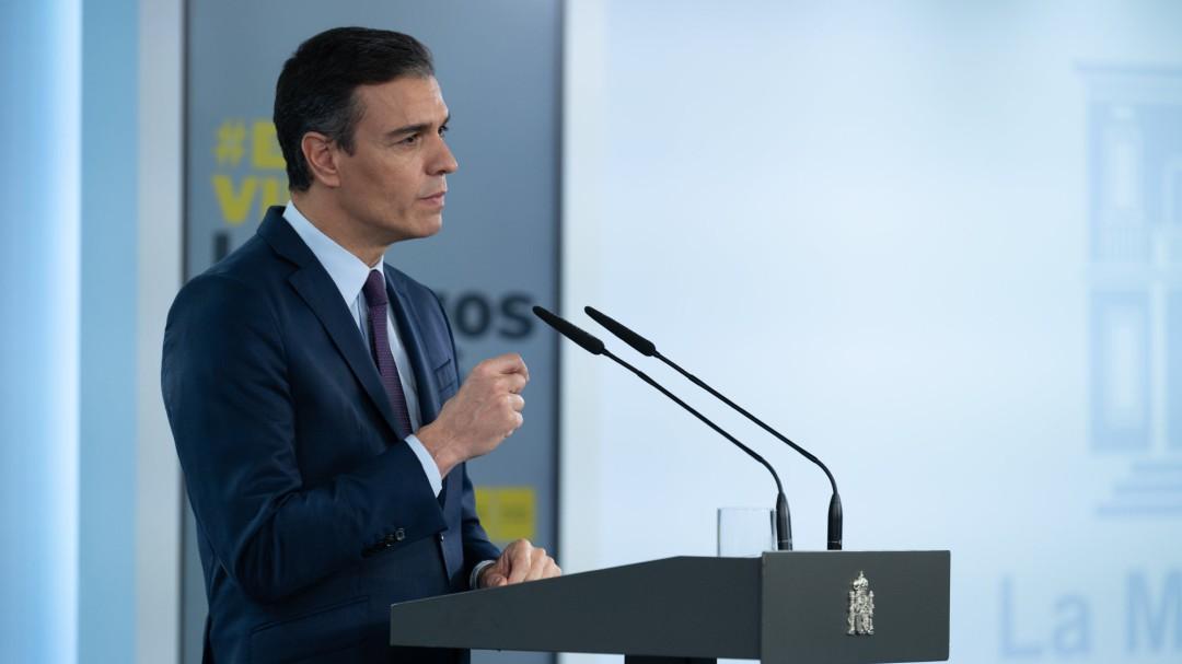 """Pedro Sánchez declara el estado de alarma en toda España: """"La situación es extrema"""""""