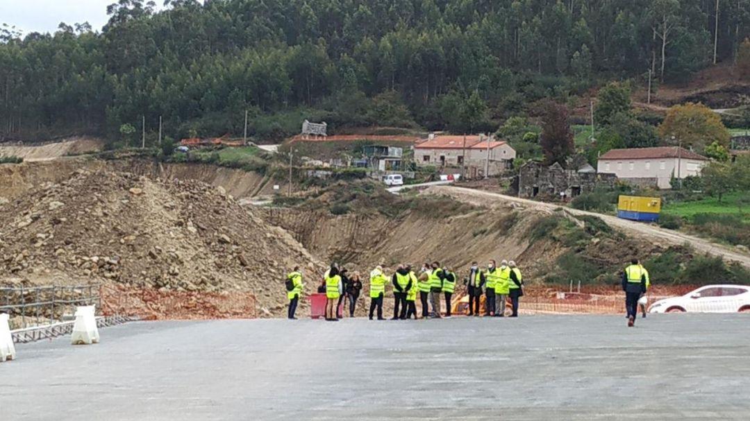 Obras del tramo de la circunvalación de Pontevedra