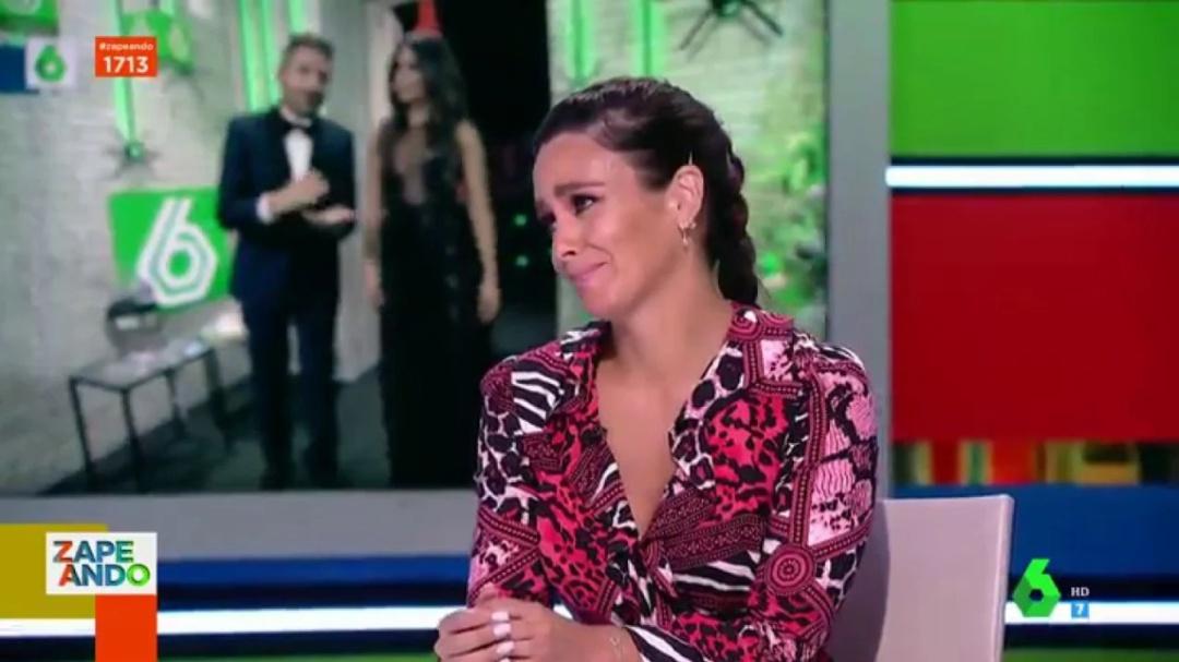 """Explosión de sinceridad de Cristina Pedroche en directo: """"No quiero que la gente piense eso de mí"""""""