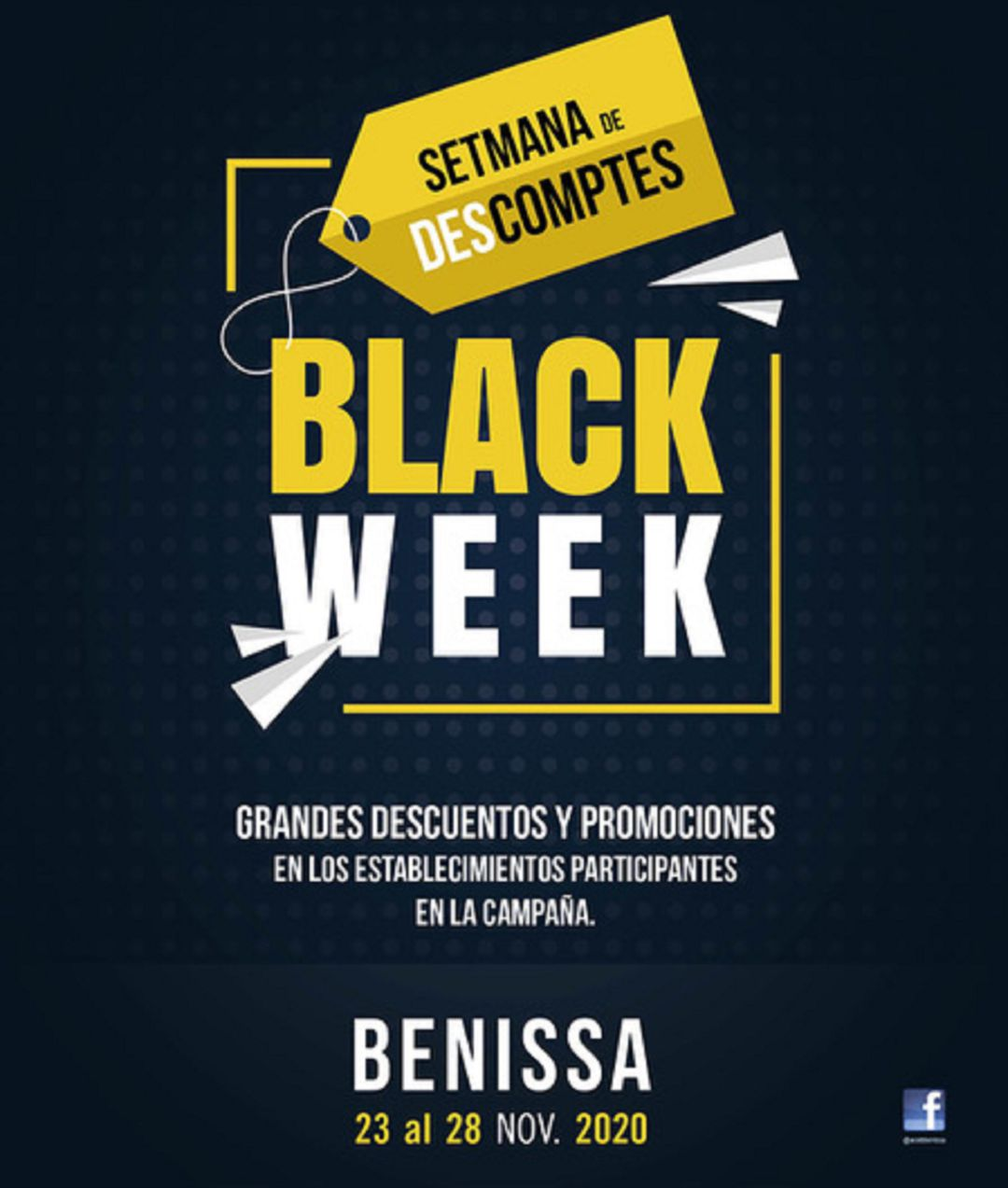 Cartel Benissa Black Week 2020.