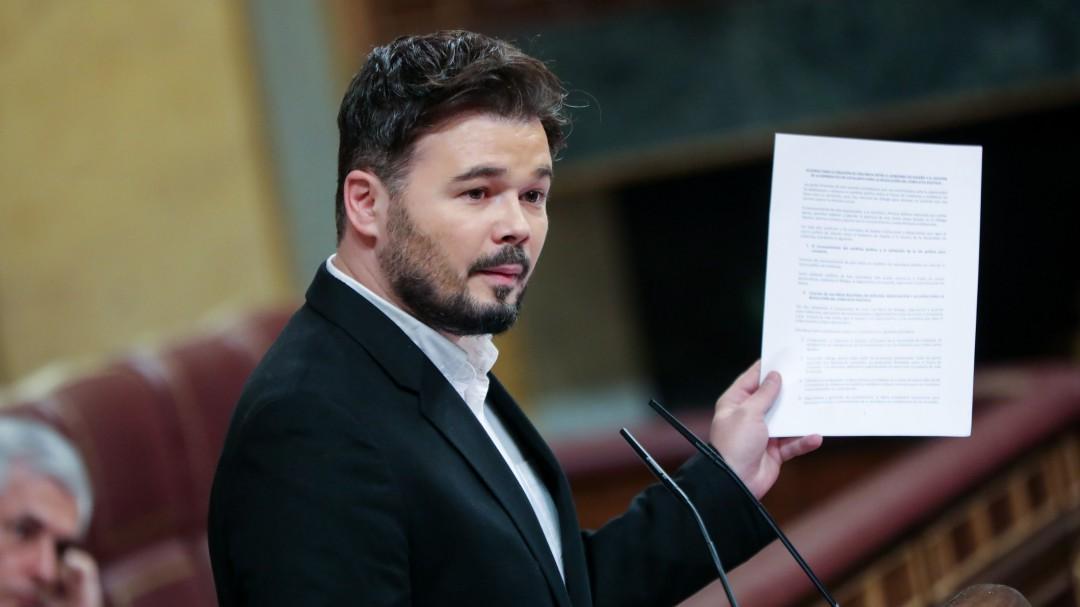 """ERC anuncia un """"preacuerdo"""" con el Gobierno para los Presupuestos"""