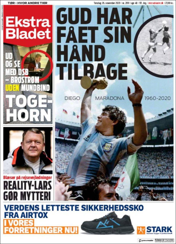 'Dios ha recuperado su mano', titula la prensa danesa
