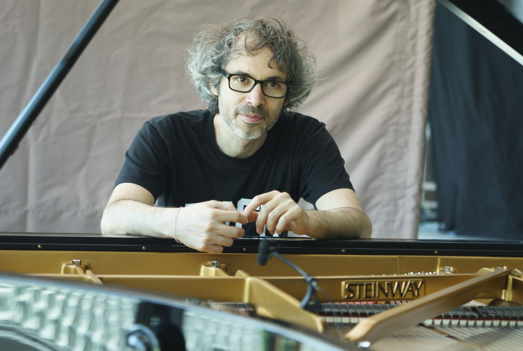 El pianista James Rhodes.