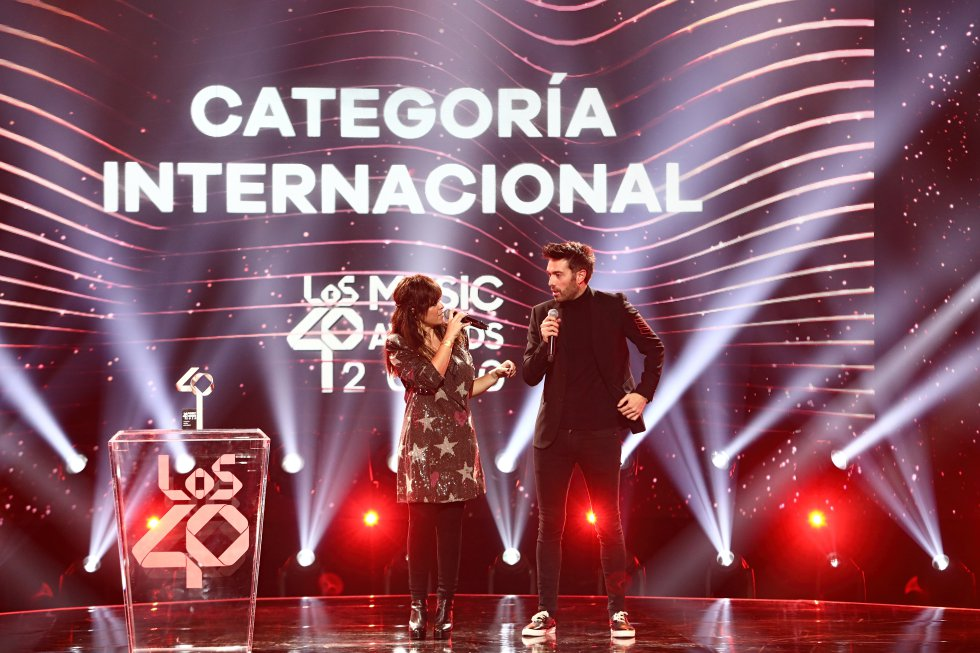 Vanessa Martín y Pablo Alborán.