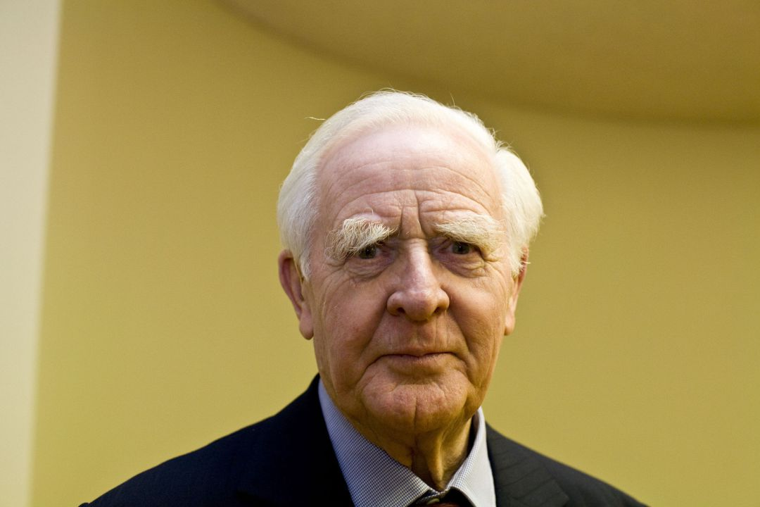 FILE - 13 DECEMBER 2020: Author David Cornwell (John le Carré), 89, has died of pneumonia at the Royal Cornwall Hospital​ on December 12, 2020 in Truro, Cornwall, England​. OXFORD, UNITED KINGDOM