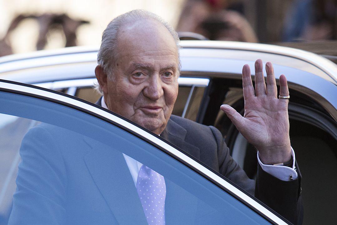 El rey emérito, Juan Carlos I, en una imagen de archivo de 2018