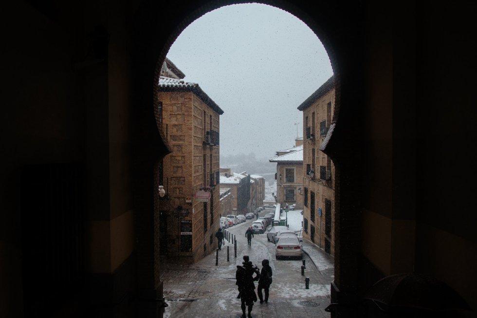 Fotografía desde la plaza de Zocodover (Toledo).