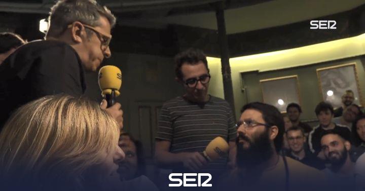 Un fan de Ignatius Farray irrumpe en el programa de Buenafuente y Berto