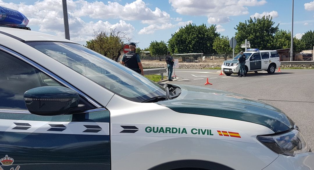 Efectivos de la Guardia Civil