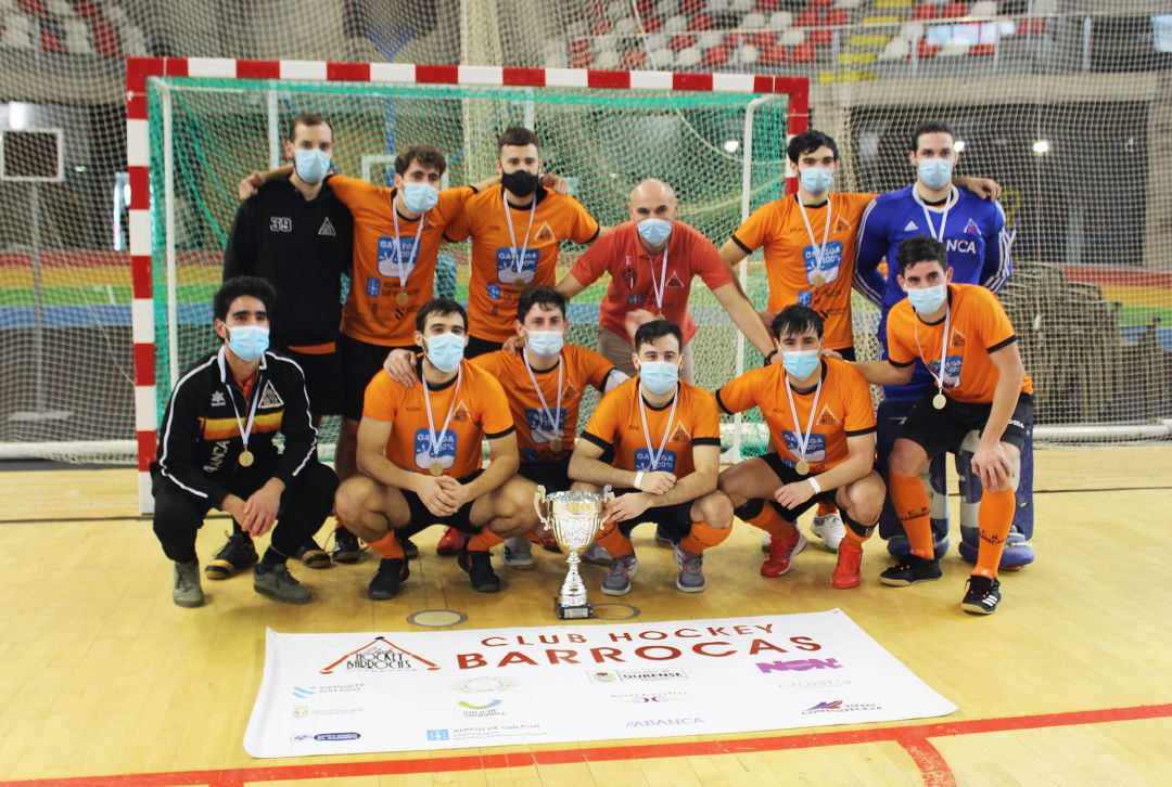 Club Hockey Barrocás, Campeón Gallego Sénior de Hockey Sala Masculino