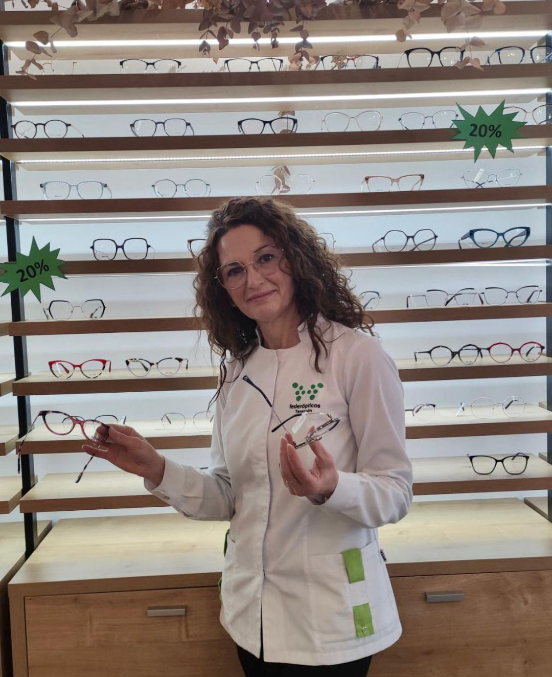 Beatriz López, optometrista