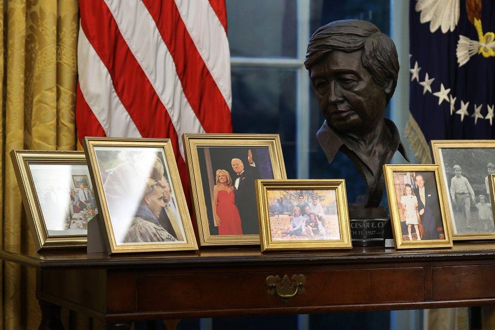 Imagen del despacho Oval.