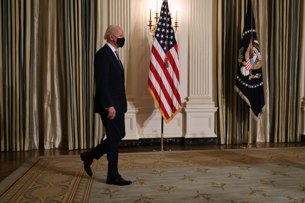 Joe Biden, en la Casa Blanca.