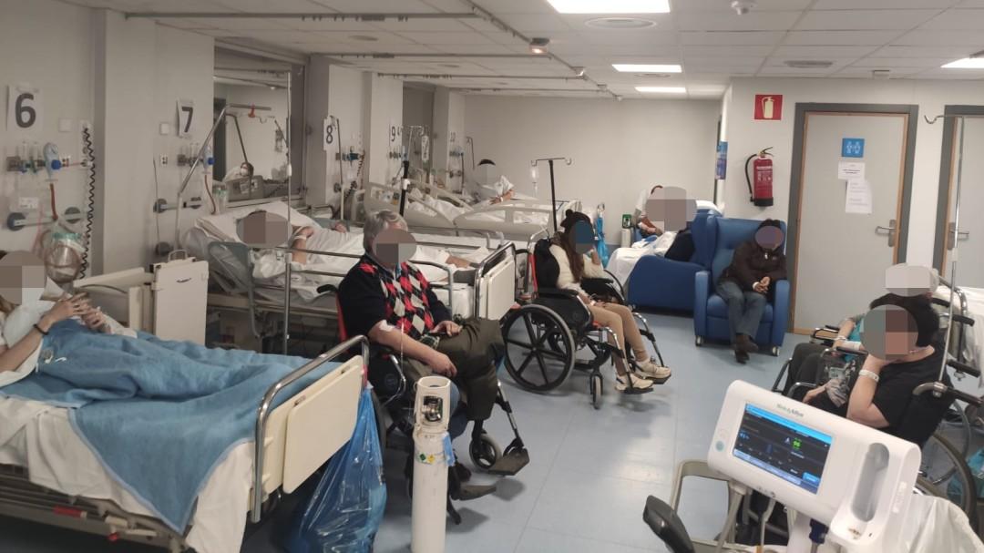 Vuelve la saturación a los hospitales de Madrid