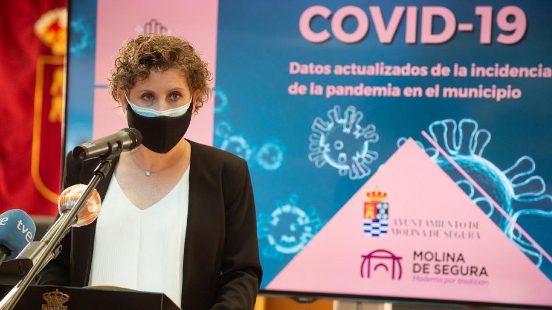 Dimite la alcaldesa de Molina de Segura tras vacunarse fuera de protocolo