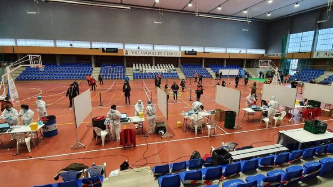 Habrá cribado masivo en Palencia entre el 27 y el 31 de enero en Campos Góticos