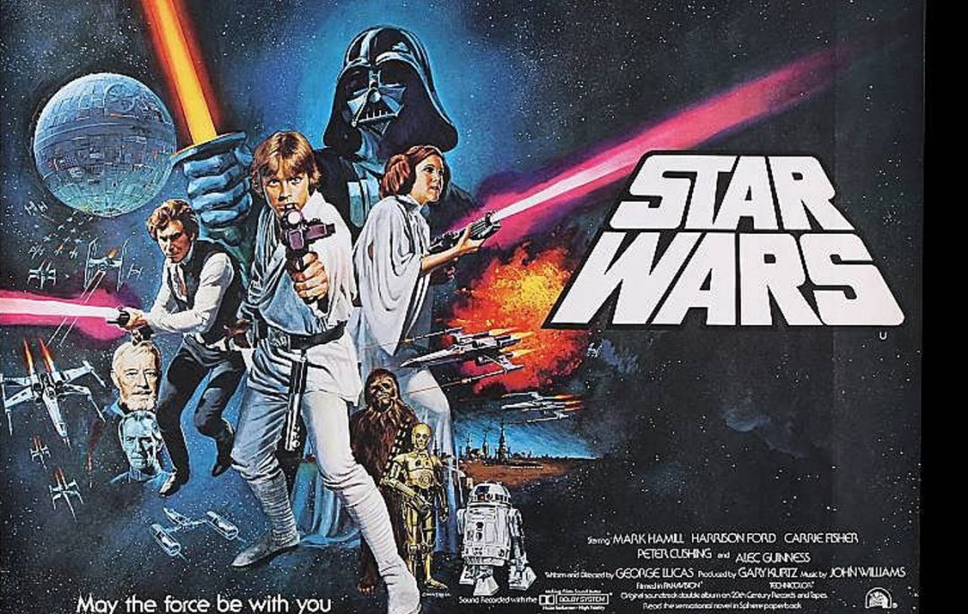 Cartel de 'Star Wars'.