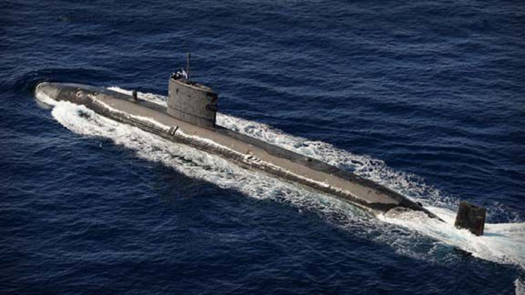 Submarino 'HMS Talent'.