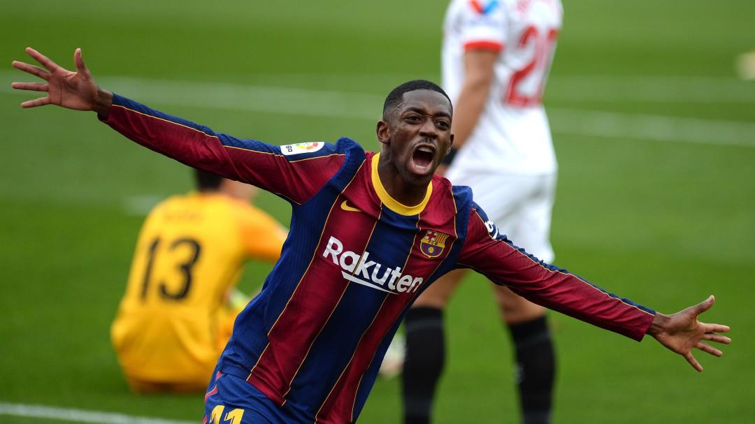 La conexión Messi-Dembélé desatasca al Barça en una semana de liberación