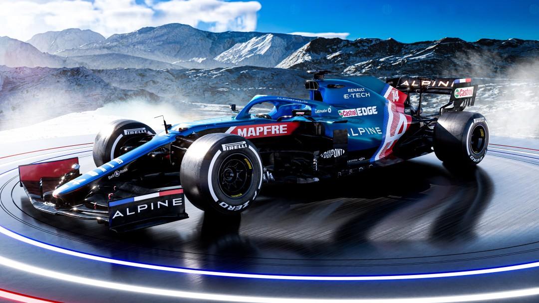 Así es el A521 de Alpine: el coche que pilotará Fernando Alonso en su regreso a la Formula 1