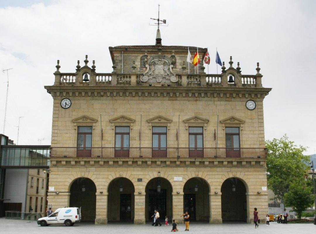 El Ayuntamiento de Irun en una imagen de archivo
