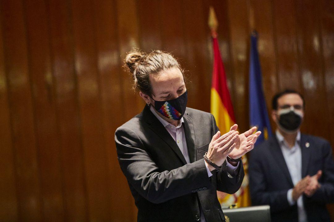 El exvicepresidente segundo y exministro de Derechos Sociales y Agenda 2030, Pablo Iglesias