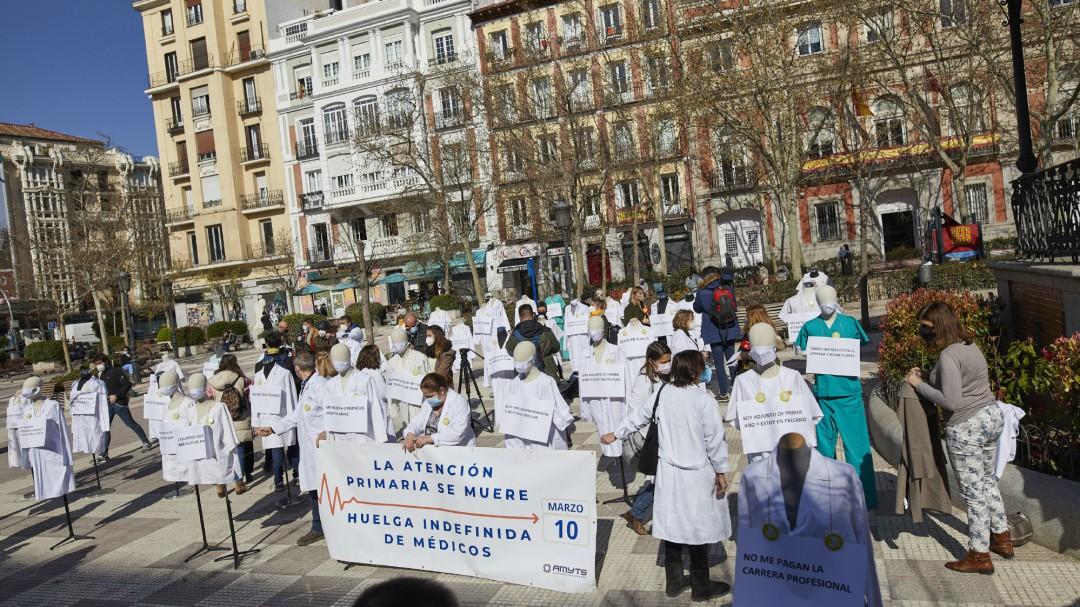 El TSJM condena a la Comunidad por no proteger a los médicos de los centros de salud