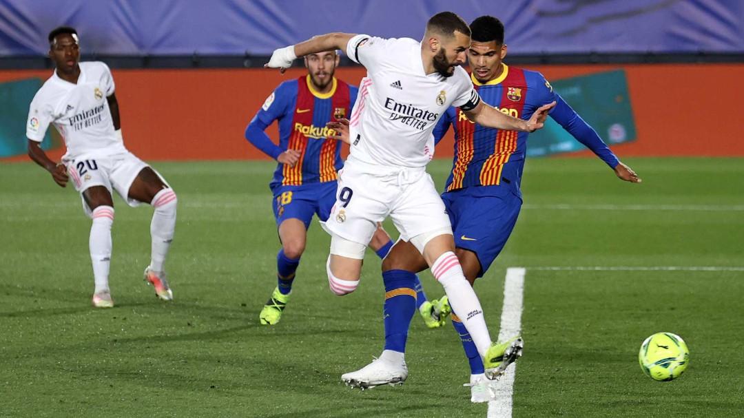La verticalidad da alas al Real Madrid en el Clásico más intenso